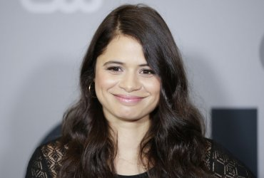 Melonie Diaz at The CW network Upfront in New York