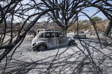 Over 3.5 Million Arces Burned in California