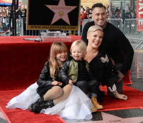 Pink honored on Hollywood Walk of Fame in Los Angeles