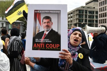 Egyptian Protests Against President el-Sisi in Washington