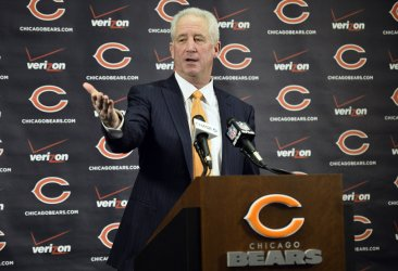 Chicago Bears Introduce John Fox as Head Coach in Lake Forest, Illinois