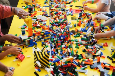 """""""LEGO Architecture: Towering Ambition"""" exhibition at the Building Museum in Washington"""