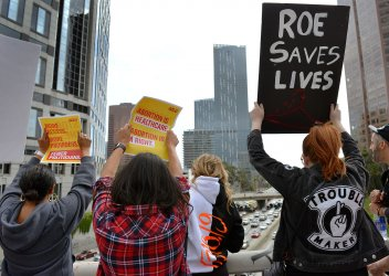 LA protesters rally to stop abortion bans across the country