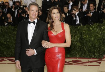 Cindy Crawford at the Met Gala in New York