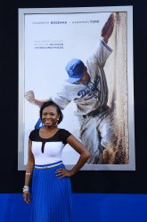 "Naturi Naughton attends the ""42"" premiere at in Los Angeles"
