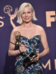 Michelle Williams wins award at Primetime Emmy Awards in Los Angeles