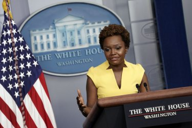 Karine Jean-Pierre Press Briefing at White House