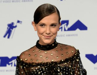 Millie Bobby Brown attends the 2017 MTV Video Music Awards in Inglewood, California