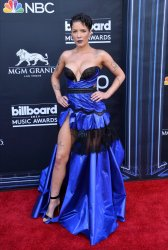 Halsey attends the 2019 Billboard Music Awards in Las Vegas