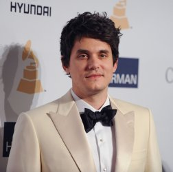 John Mayer attends the Clive Davis pre-Grammy party in Beverly Hills, California