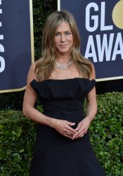 Jennifer Aniston attends the 77th Golden Globe Awards in Beverly Hills