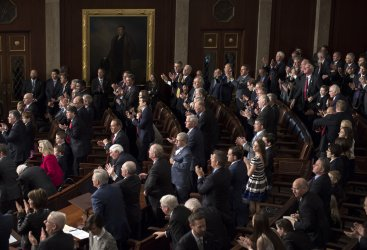 Republicans cheer for Speaker Ryan in Washington, D.C.
