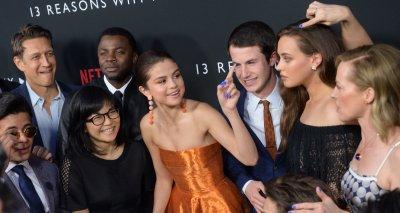 "Selena Gomez attends Netfix's ""13 Reasons Why"" premiere in Los Angeles"