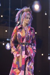 Gigi Hadid at Marc Jacobs show at Fashion Week