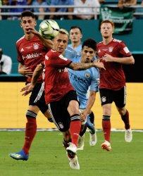International Champions Cup match between FC Bayern vs. Manchester City at Hard Rock Stadium, Miami