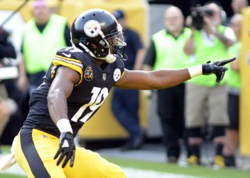Steelers JuJu Smith-Schuster Celebrates TD in Pittsburgh