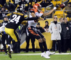 Bengals Josh Malone Misses Catch in Pittsburgh
