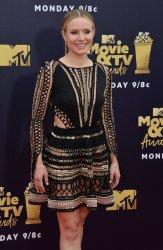 Kristen Bell attends the 2018 MTV Movie & TV Awards in Santa Monica, California