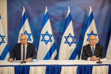 Israeli PM Netanyahu and Alternate PM Gantz Issue Statement