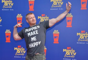 Wes Bergmann attends the MTV Movie & TV Awards in Santa Monica, California