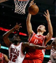 NBA Basketball Houston Rockets vs. Chicago Bulls