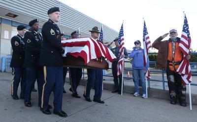 Remains of World War II soldier returned