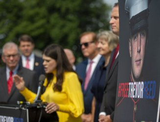 Bi-partisan News Conference on Americans Detained in Russian Prisons
