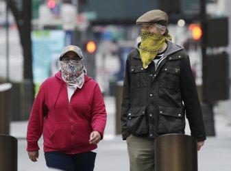 Coronavirus outbreak on Palm Sunday in New York