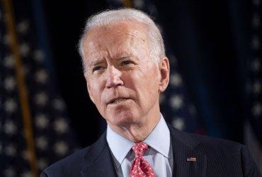 Democratic Presidential Candidate Joe Bide speaks on the Coronavirus in Delaware
