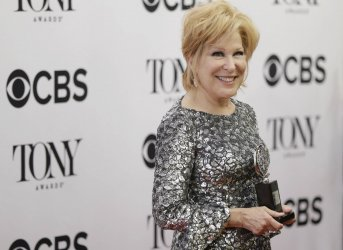 Bette Midler at the Tony Awards