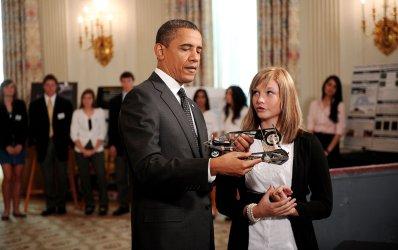 President Obama Hosts the White House Science Fair in Washington