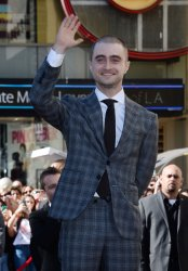 Daniel Radcliffe gets a star on the Hollywood Walk of Fame in Los Angeles