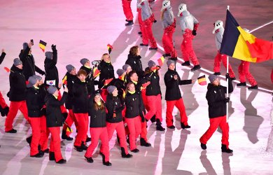 Opening Ceremony for the Pyeongchang 2018 Winter Olympics