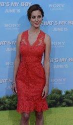 "Eva Amurri Martino attends the ""That's My Boy"" premiere in Los Angeles"