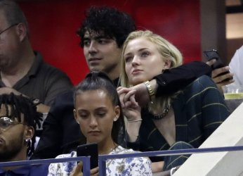 Sophie Turner and Joe Jonas at the US Open