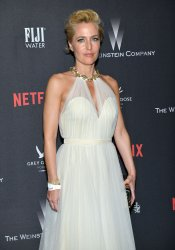 Gillian Anderson attends Weinstein Company and Netflix 2017 Golden Globes after party
