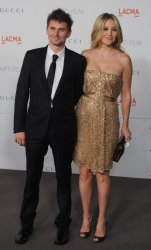 Kate Hudson and Matthew Bellamy attend the LACMA Art + Film gala in Los Angeles