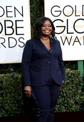 Octavia Spencer attends the 74th annual Golden Globe Awards in Beverly Hills