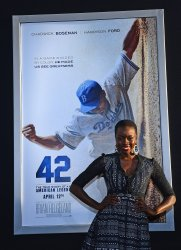 """42"" Premieres at the TCL Chinese Theatre in the Hollywood section of Los Angeles"