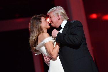 President Trump at Liberty Ball in Washington, D. C.