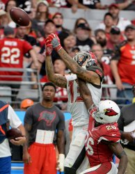 Buccaneers' Evans can't make the catch
