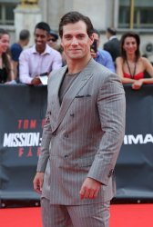 """Henry Cavill arrives at the world premiere of """"Mission: Impossible - Fallout"""" in Paris"""