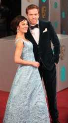 Damian Lewis and wife Helen Mcrory arrives at the Baftas Awards Ceremony