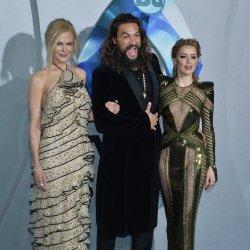 "Nicole Kidman, Jason Momoa and Amber Heard attend ""Aquaman"" premiere in L.A."