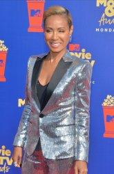 Jada Pinkett Smith attends the MTV Movie & TV Awards in Santa Monica, California