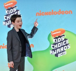 Jason Maybaum attends Kids' Choice Awards 2019
