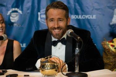 Ryan Reynolds Harvard Hasty Pudding Man of Year