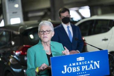 Transportation Secretary Pete Buttigieg Holds News Conference on American Jobs Plan