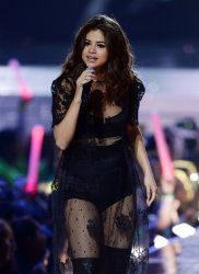 Selena Gomez performs at WE Day empowerment event in Inglewood
