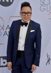 Nico Santos attends the SAG Awards in Los Angeles